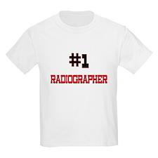 Number 1 RADIOGRAPHER T-Shirt