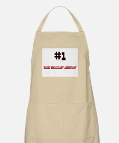 Number 1 RADIO BROADCAST ASSISTANT BBQ Apron