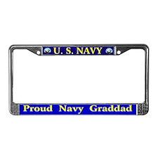 Navy League Detroit License Plate Frame