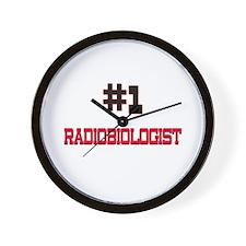 Number 1 RADIOBIOLOGIST Wall Clock