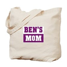 Bens Mom Tote Bag