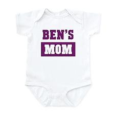 Bens Mom Infant Bodysuit