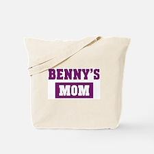 Bennys Mom Tote Bag