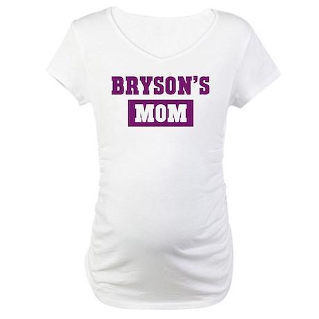 Brysons Mom Maternity T-Shirt