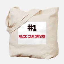 Number 1 RACE CAR DRIVER Tote Bag