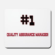 Number 1 QUALITY ASSURANCE MANAGER Mousepad