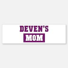 Devens Mom Bumper Bumper Bumper Sticker