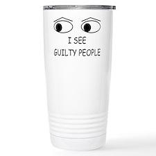 Cute Law enforcement Travel Mug