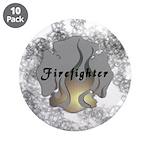 """Firefighter Tattoo 3.5"""" Button (10 pack)"""