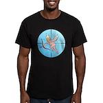 Target Cupid Men's Fitted T-Shirt (dark)