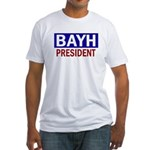 Patriotic Bayh President Fitted T-Shirt