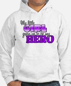 My little girl grew up to be Jumper Hoody