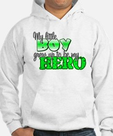 my little boy grew up to be m Hoodie