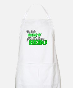 my little boy grew up to be m BBQ Apron