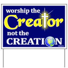 Worship Creator Yard Sign