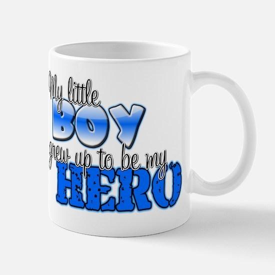 My little boy grew up to be m Mug