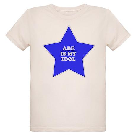 Abe Is My Idol Organic Kids T-Shirt