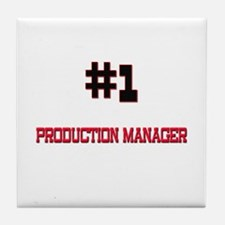 Number 1 PRODUCTION MANAGER Tile Coaster