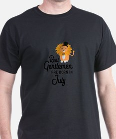 Real Gentlemen are born in July Cp8i5 T-Shirt