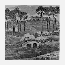 Battle of Antietam Military Gift Tile Coaster