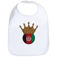 King Of Afghanistan Bib