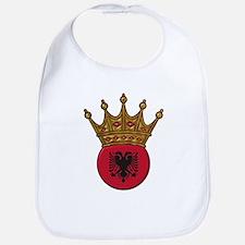 King Of Albania Bib