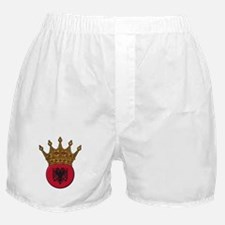King Of Albania Boxer Shorts