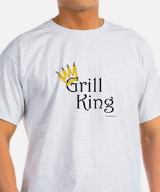 Grill King (yellow pepper crown) T-Shirt