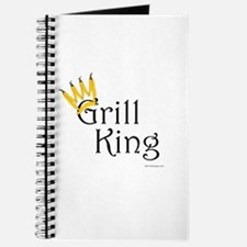 Grill King (yellow pepper crown) Notepad