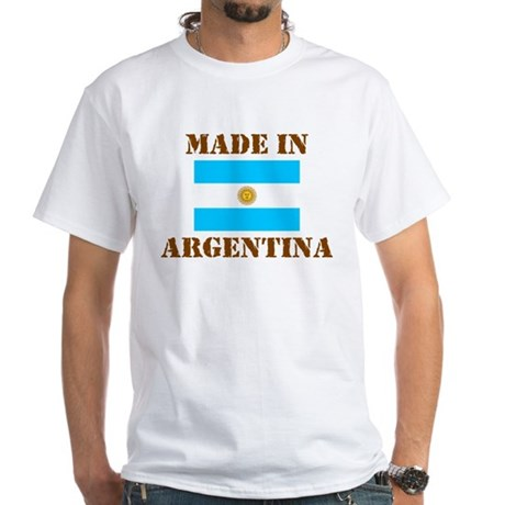 Made In Argentina White T-Shirt