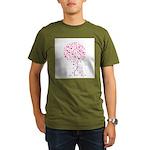 Breast Cancer Awareness Pink Organic Men's T-Shirt