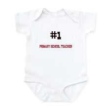 Number 1 PRIMARY SCHOOL TEACHER Infant Bodysuit