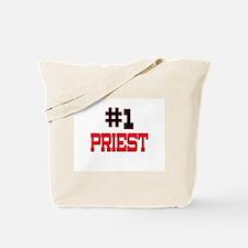 Number 1 PRIEST Tote Bag