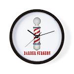 Barber Surgeon Wall Clock