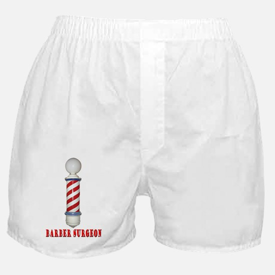 Barber Surgeon Boxer Shorts