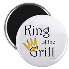 King of the Grill (pepper crown) Magnet 10 pack