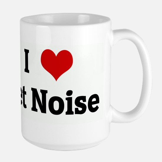 I Love Jet Noise Large Mug