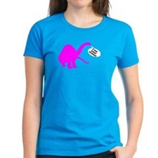 Women's Dark Dinosaur T-Shirt