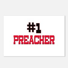 Number 1 PREACHER Postcards (Package of 8)