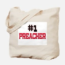 Number 1 PREACHER Tote Bag
