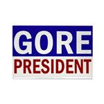 Al Gore: President! Rectangle Magnet