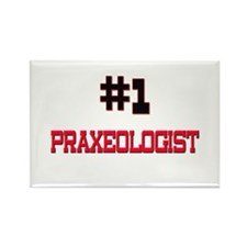 Number 1 PRAXEOLOGIST Rectangle Magnet