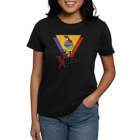 Extreme Skateboarding Women's Dark T-Shirt