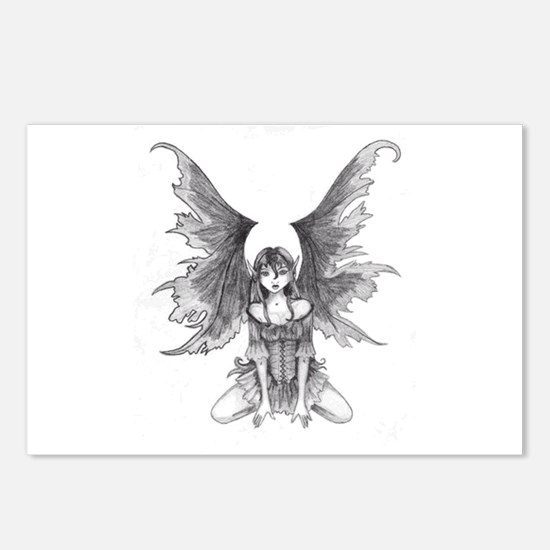 Gothic Fairy Postcards (Package of 8)