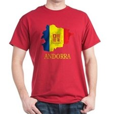 Map Of Andorra T-Shirt