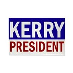 John Kerry: President! Rectangle Magnet