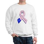 Male Breast Cancer Sweatshirt