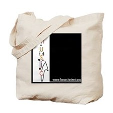 Cute Clarinet design Tote Bag