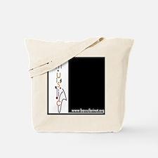 Cute Clarinet design Tote Bag