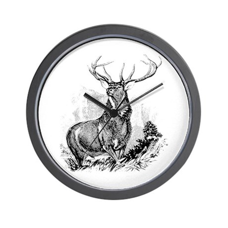 Elk Wall Clock